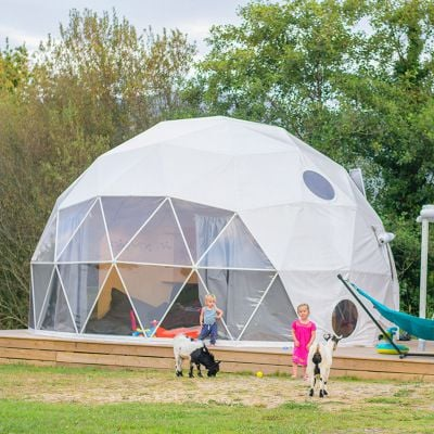 Luxury Domos Transparent Geodesic Igloo Dome Canopy Tent Bubble Tent