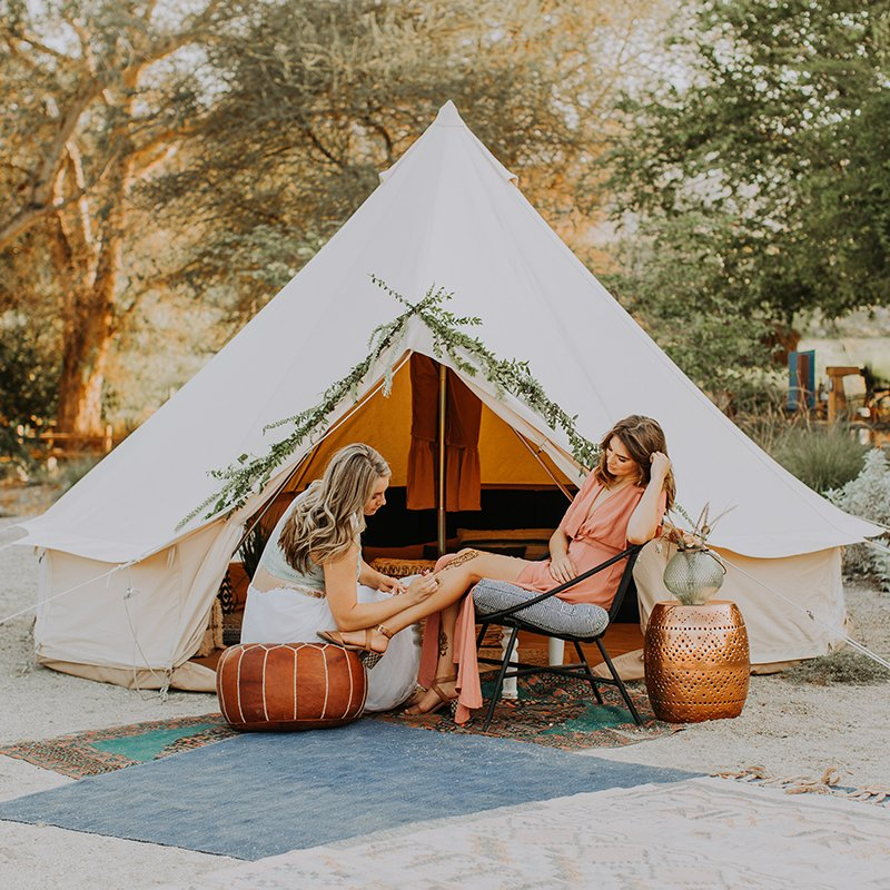 Cotton Canvas Bell Tent