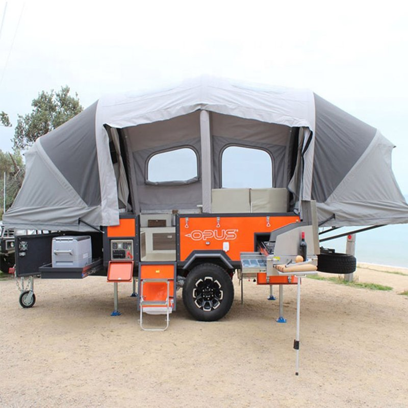 Inflatable Camper Trailer Tent